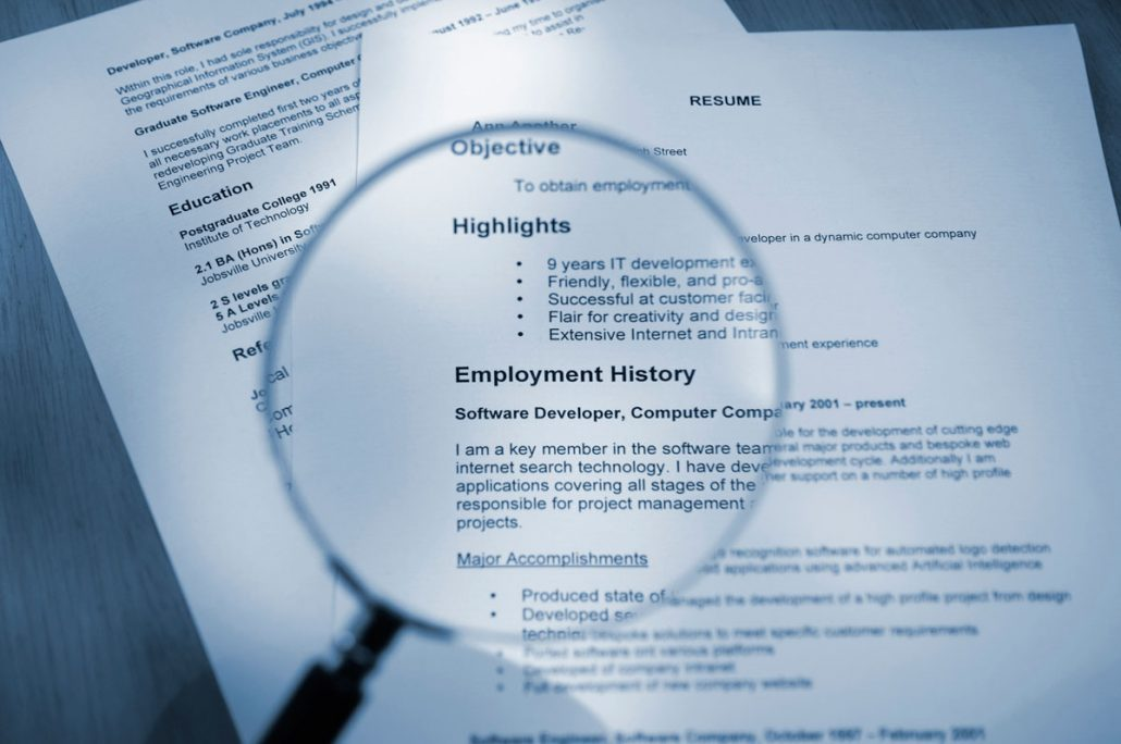 Recruiters Off the Clock: 4 Things to Eliminate from Your Resume ...